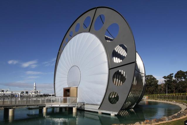 Gippsland Water Factory Vortex Centre by DesignInc.