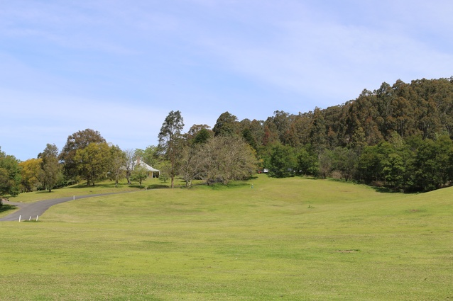 The landscape at the Riversdale site.