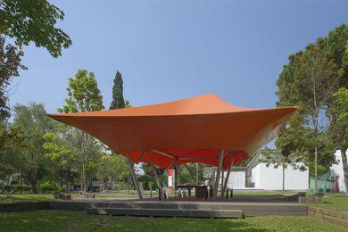 Australia's temporary pavilion, Cloud Space.