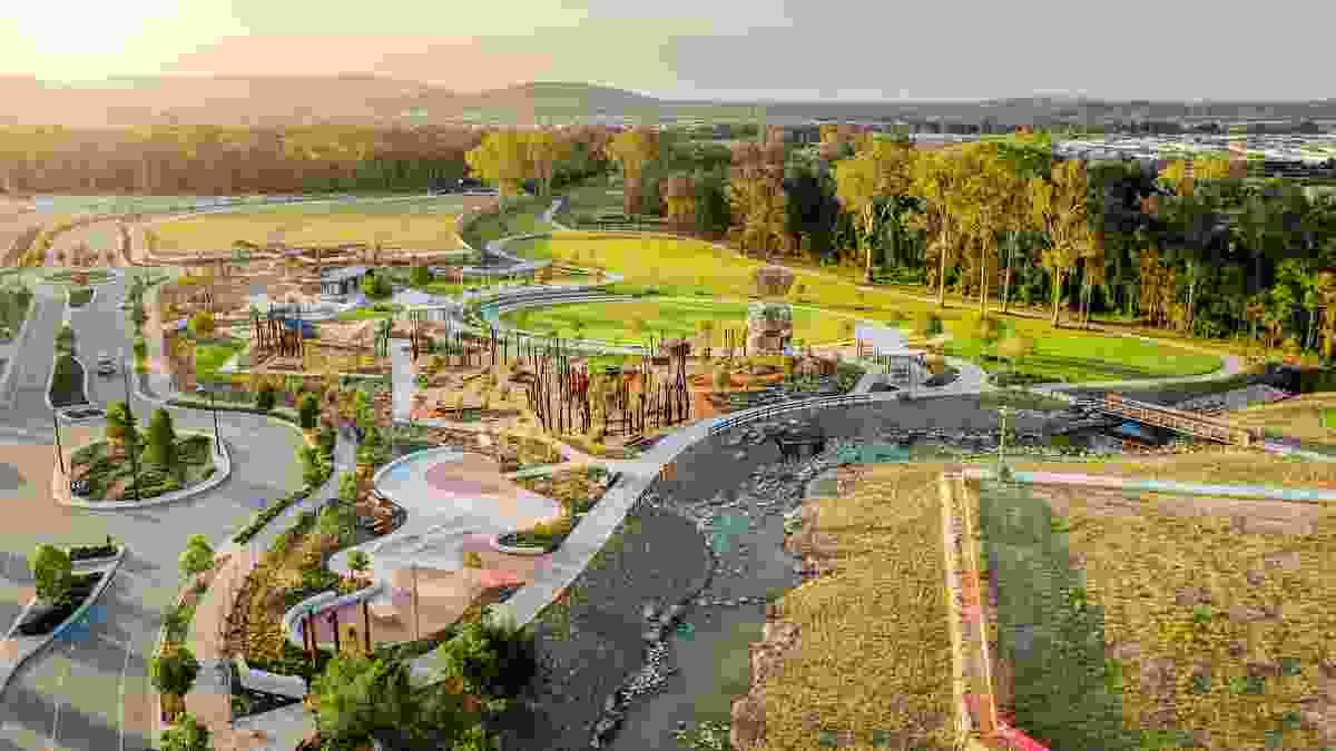 Bim'bimba Park by Form Landscape Architects