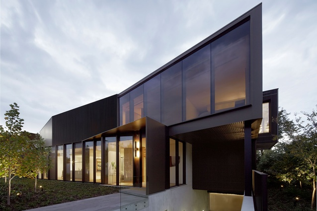 Shrouded House by Inarc Architects in conjunction with Allison Pye Interiors.