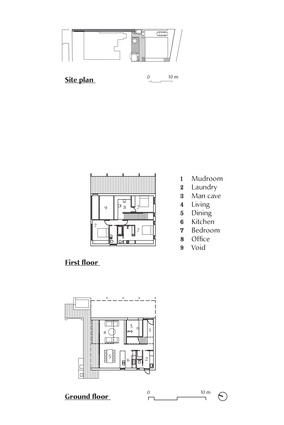Plans of Grey Street House by Local Architecture.