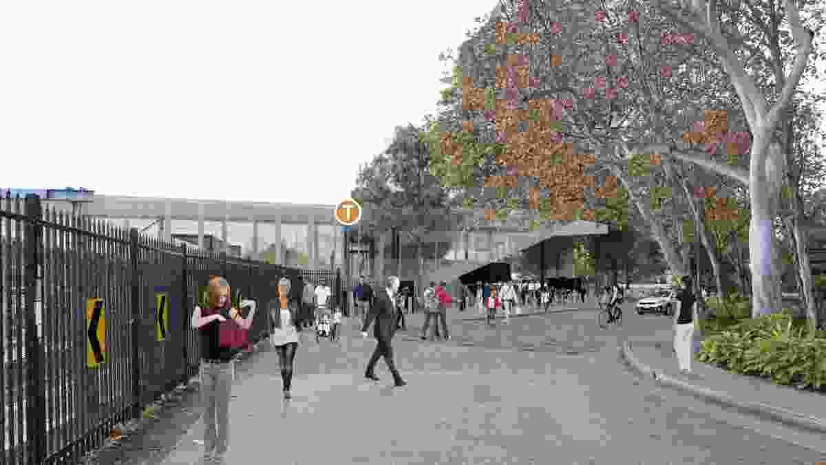 Redfern Station redevelopment by Designinc.
