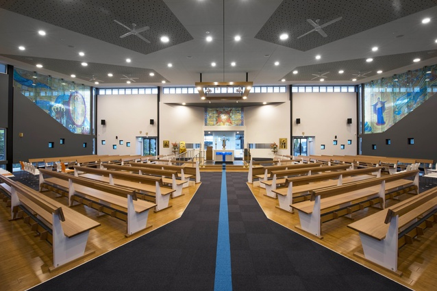 St Francis Xavier Catholic Church, Belmont  Killen + Doran Architects.