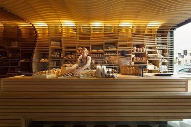 Inside the Baker D. Chirico in Carlton, Victoria.