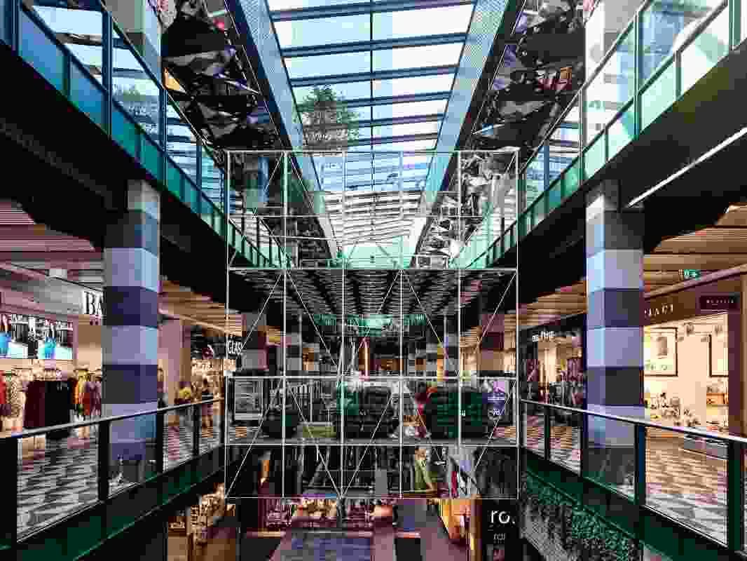 Melbourne Central Arcade by Kennedy Nolan.
