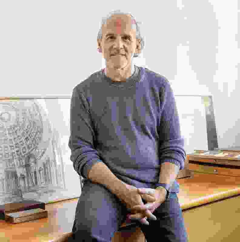 Renato D'Ettorre, director of Renato D'Ettorre Architects. Photograph: Katherine Lu.