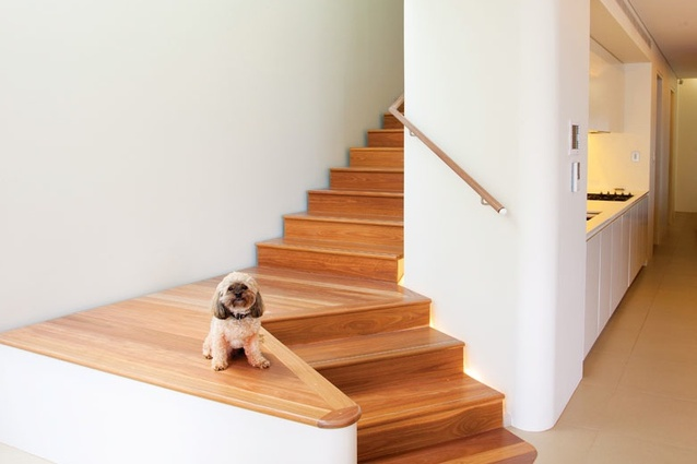 The Kirribilli House has a solid timber floor.