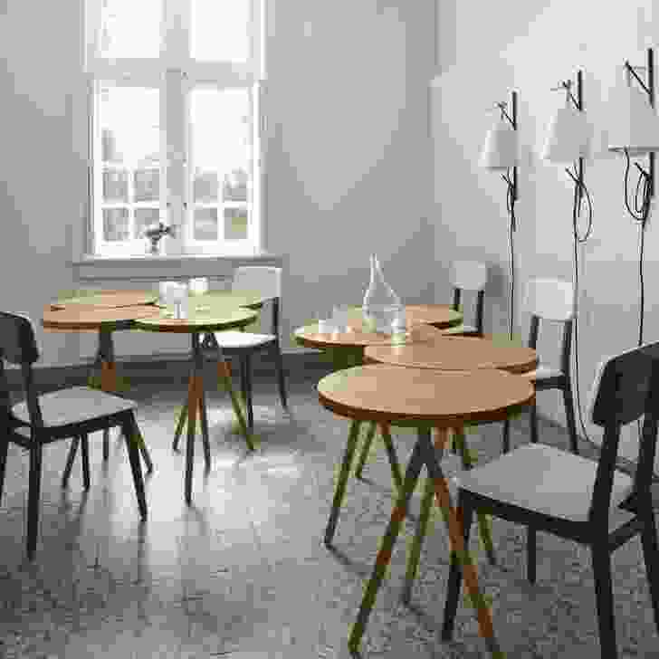 Itisy tables designed Philippine Lemaire.