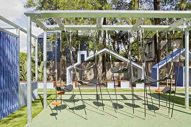 Chelsea Street Playground by Jane Irwin Landscape Architecture.