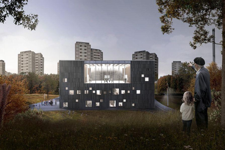 Bellahøj School by Kant Arkitekter (Denmark).