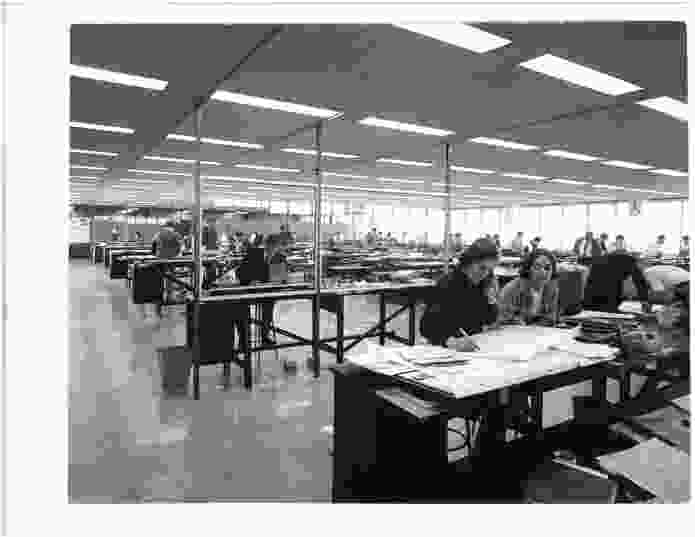 Ethel Margaret Stephenson at work at Stephenson and Turner.