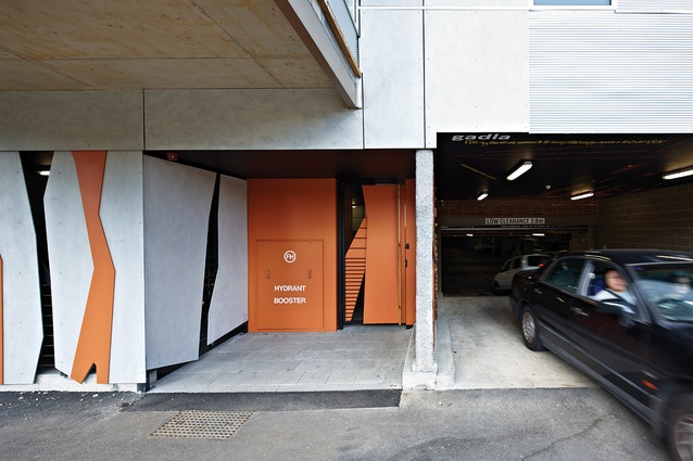 The project is equipped with a basement car park accessed from Sturt Street.