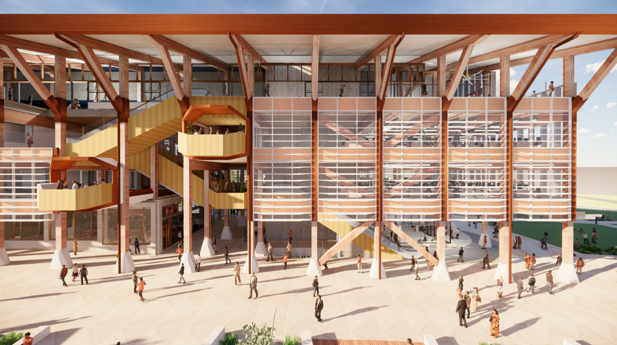 Lyons-led team designs mass timber building for Perth university