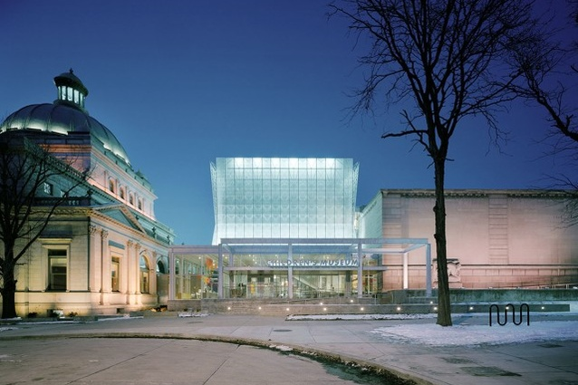 Childrens Museum of Pittsburgh (2005) by Koning Eizenberg Architecture.
