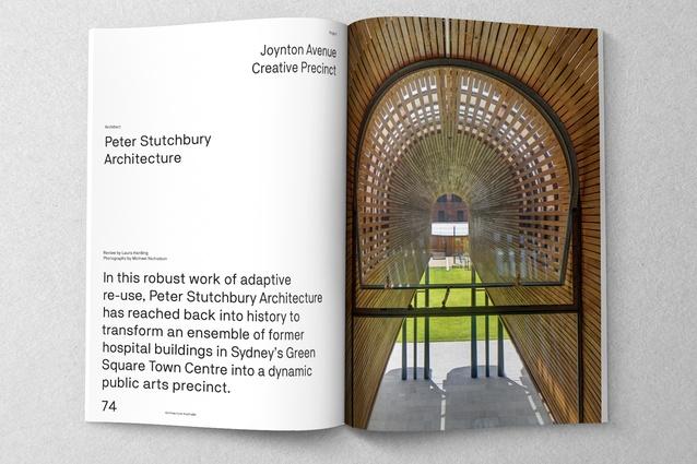 Joynton Avenue Creative Precinct designed by Peter Stutchbury Architecture.