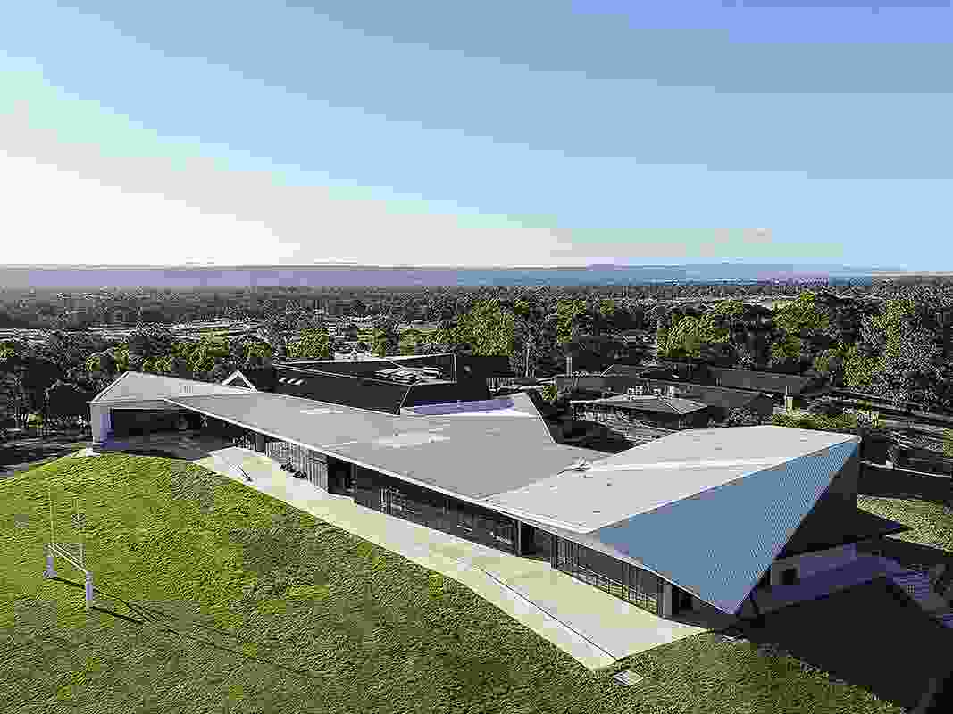 Penrith Anglican College Performing Arts Centre by Terroir.