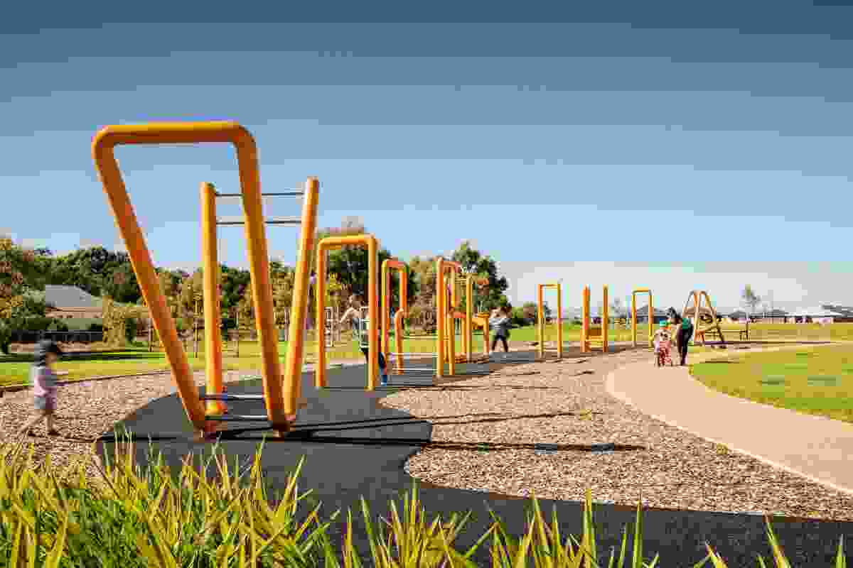 Virginia Grove Active Branding Project by WAX Design won a Landscape Architecture Award in the Small Projects category.