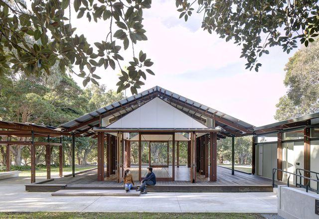Cabarita Park Conservatory by Sam Crawford Architects.