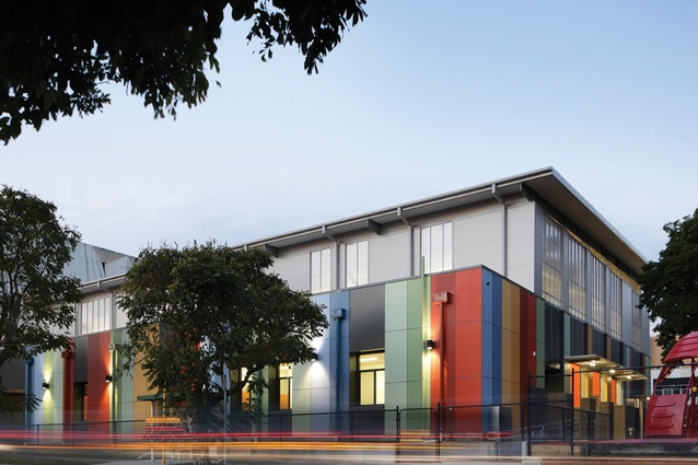 Holy Family Multipurpose Hall by Ferrier Baudet Architects.