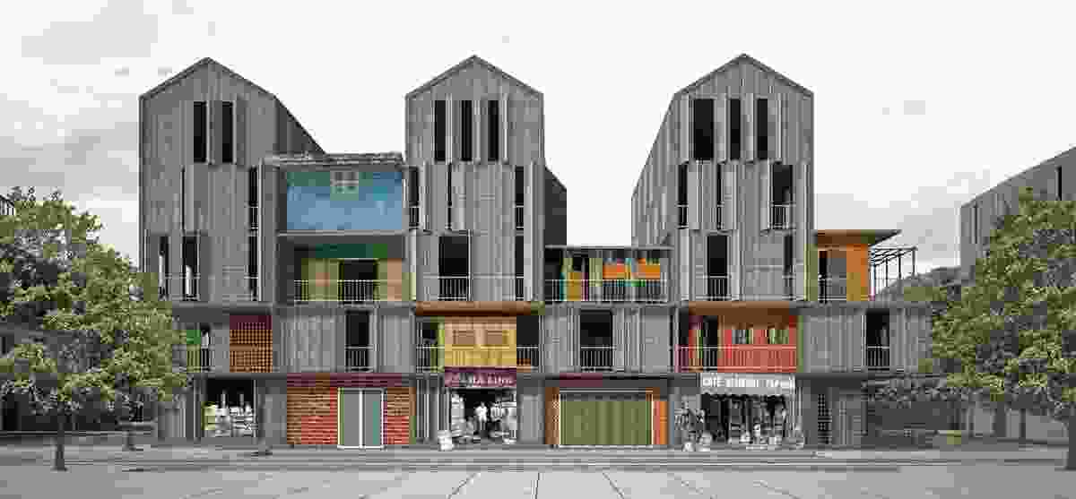 Sai Gon Informal by Ton Vu, winner of the 2011 AA Prize for Unbuilt Work, presented in 2012.