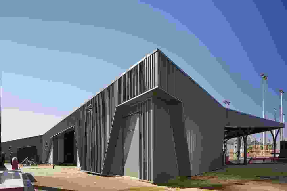 Wickham Community Hub by Gresley Abas.