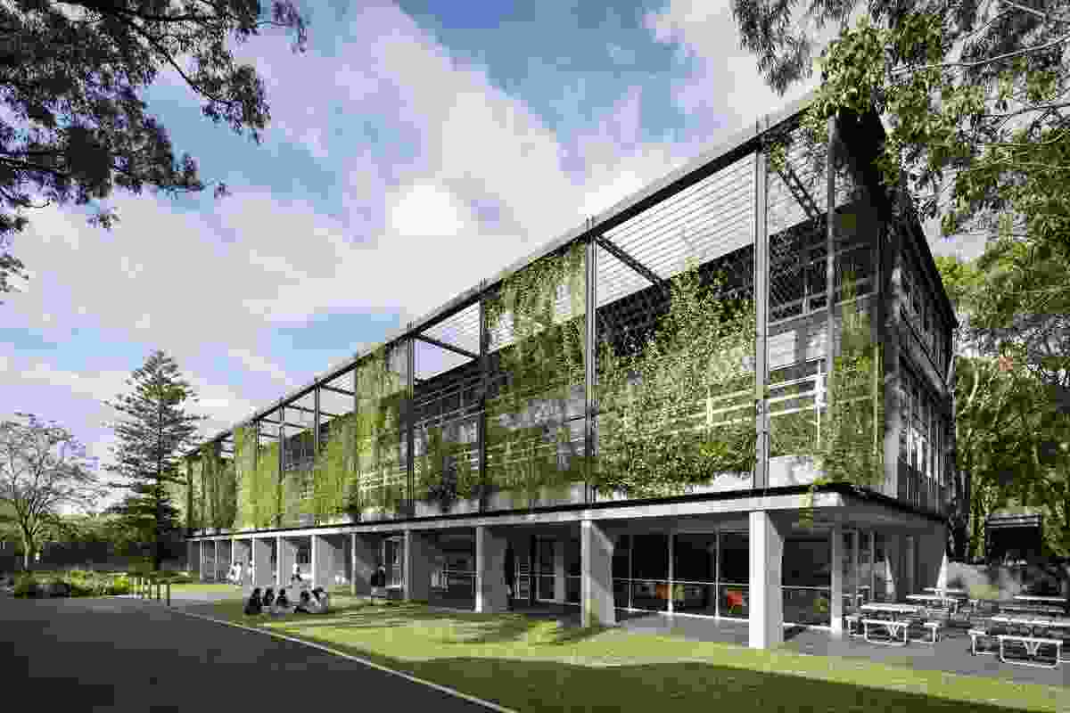 OLMC Parramatta Janet Woods Building by Tzannes Associates.