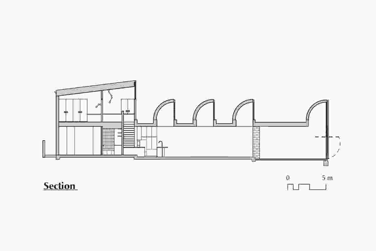 Section of Moving House by Architects EAT.