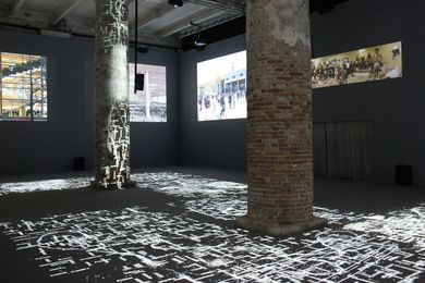 Norman Foster's Gateway exhibition for Common Ground at the 2012 Venice Architecture Biennale.