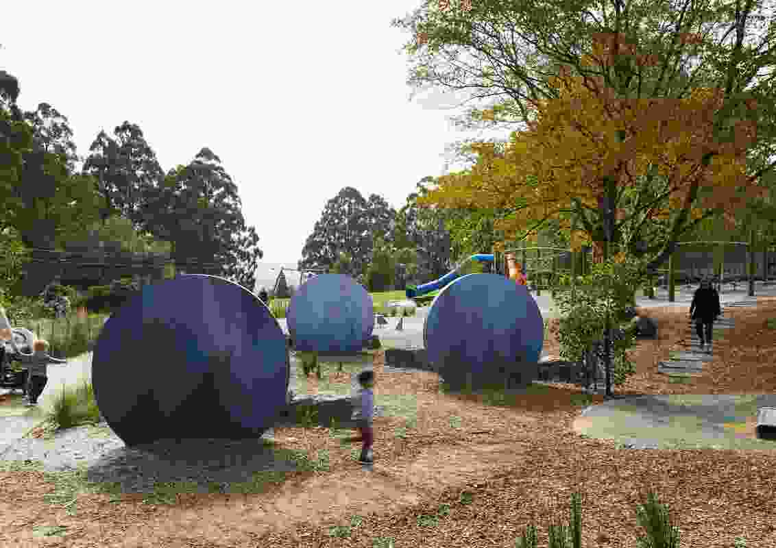 Olinda Playspace by Fitzgerald Frisby Landscape Architecture