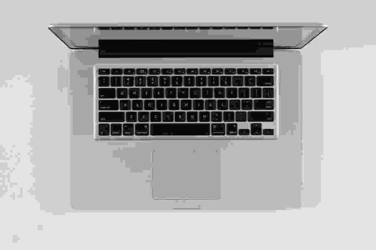 Macbook Pro laptop computer designed by Jonathan Ive for Apple, 2010