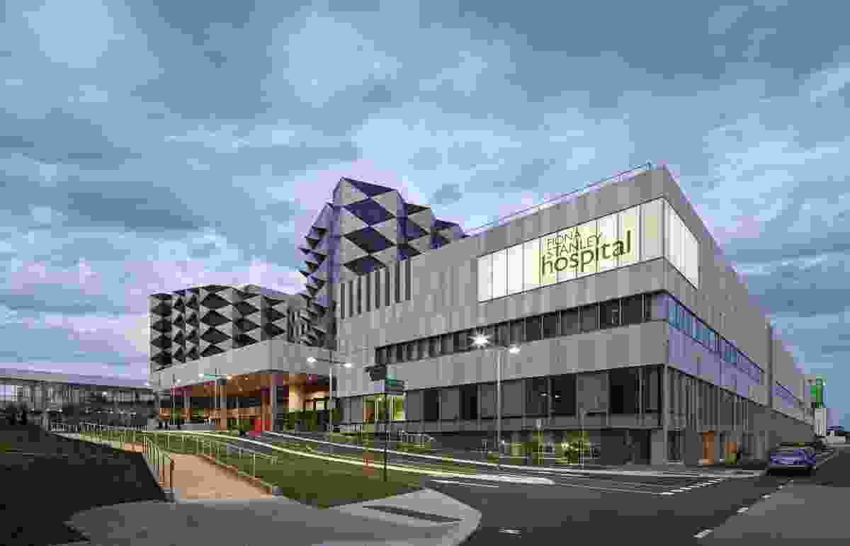 Fiona Stanley Hospital – Main Hospital Building by The Fiona Stanley Hospital Design Collaboration (comprising