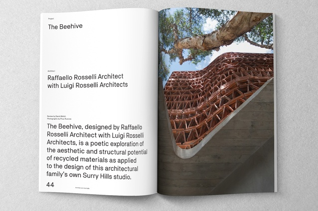 The Beehive designed by Raffaello Rosselli Architect with Luigi Rosselli Architects.