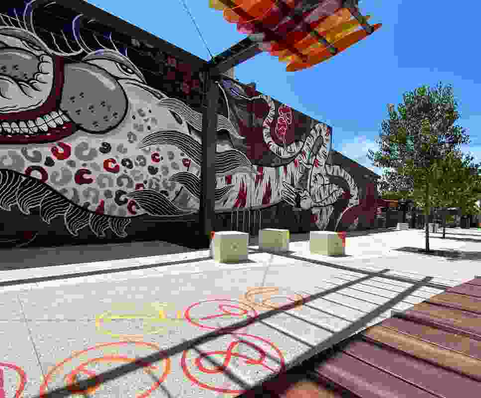 Row52 by EPCAD won a Landscape Architecture Award in the Urban Design category