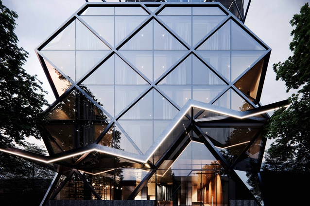 AC Hotels Fishermans Bend, designed by DKO.