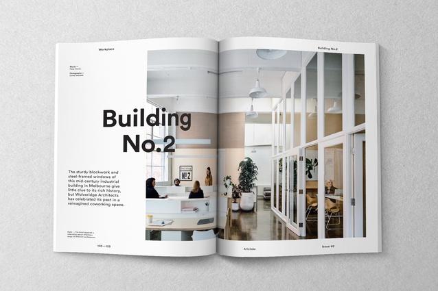 Inside Artichoke issue 62.
