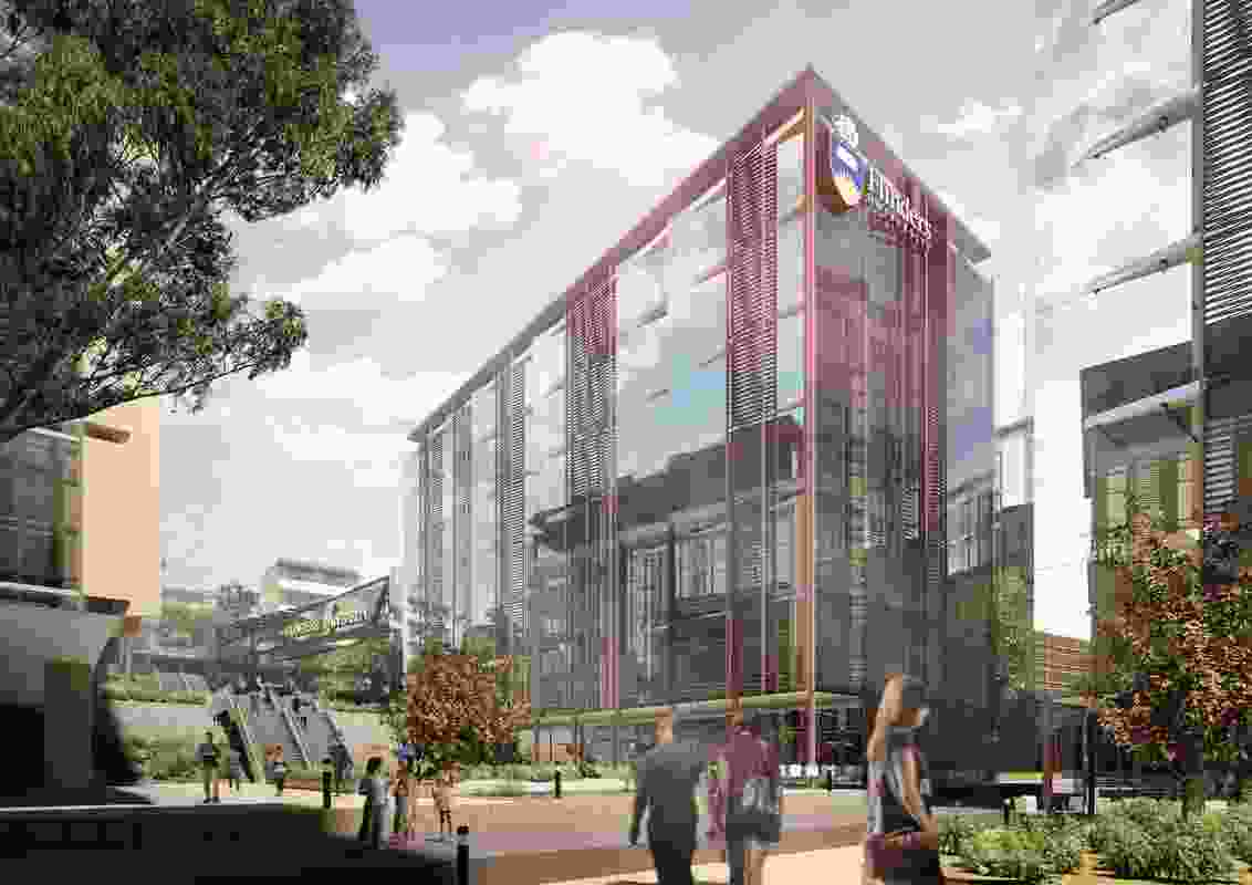 The proposed Flinders University Health and Medical Research Centre will be designed by Architectus.
