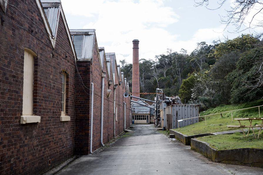 Waverley Woollen Mills, Australia's oldest working textile mill.