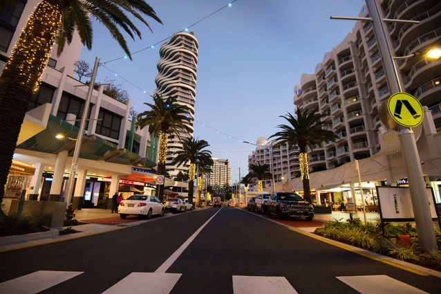 Surf Parade Place Making Project, Broadbeach by City of Gold Coast.
