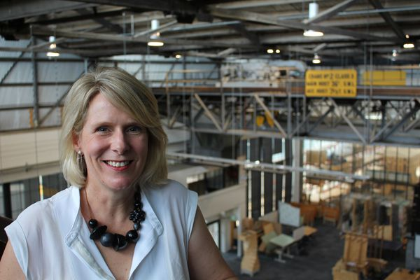 Kirsten Orr, the new head of the University of Tasmania's School of Architecture and Design.