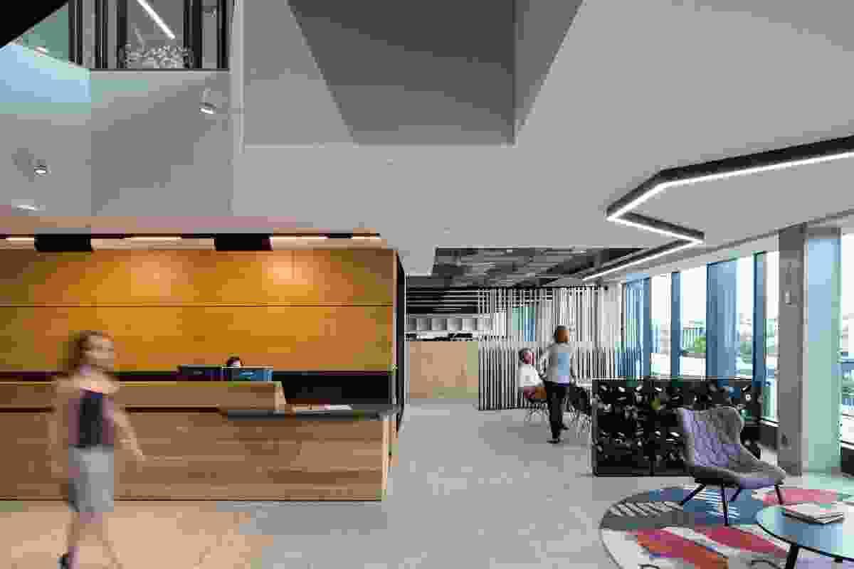 Pdt Architects Brisbane Office by Pdt Architects.
