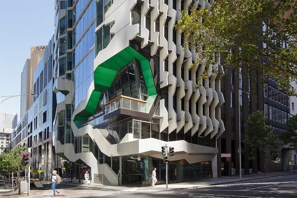 41X by Lyons, the new Victorian home for the Australian Institute of Architects and Architext bookshop.