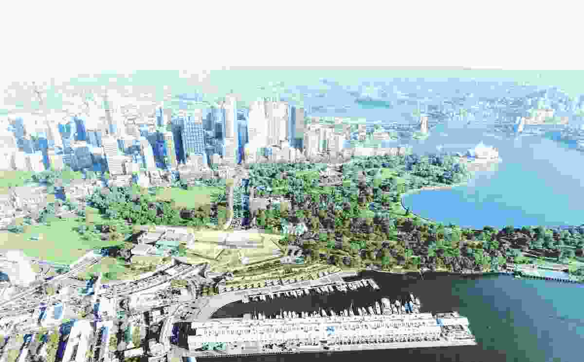 SANAA's competition winning design for the AGNSW's Sydney Modern project.