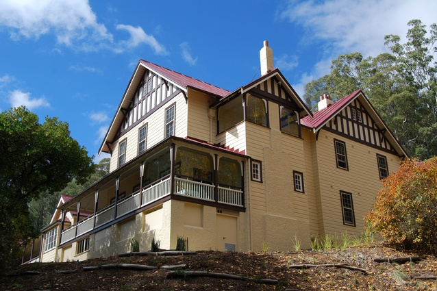 Yarrangobilly Caves House 1917 Wing by Architectural Projects.