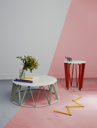 Auguste and Arlette tables by Presse Citron.
