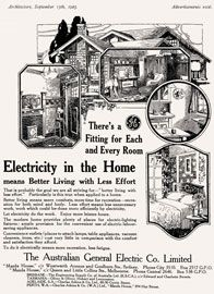 """The """"ideal home"""", 1923."""