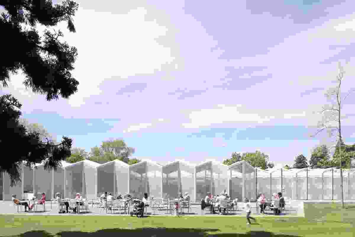 Public Architecture winner: Christchurch Botanic Gardens Visitors Centre by Patterson Associates. This project also won the John Scott Signature Award.