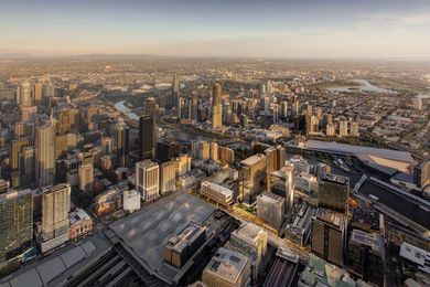Lend Lease's Melbourne Quarter precinct development.