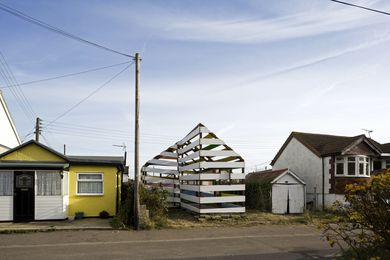 46 Brooklands Gardens in Jaywick, England (2009).