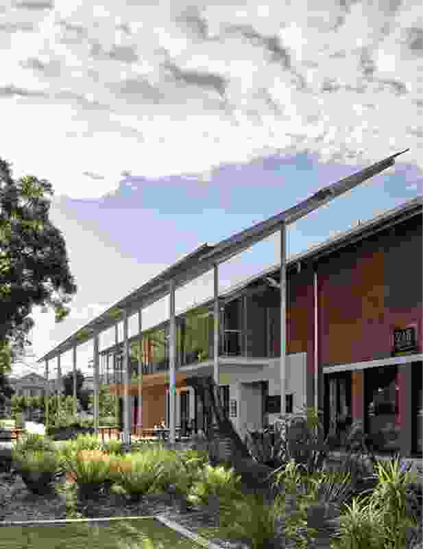 A pragmatic retrofit of a former high school building provides a much- needed new home for the Lismore Regional Gallery.